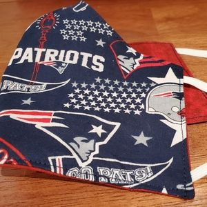 Other - Patriots home town fabric reversible face mask